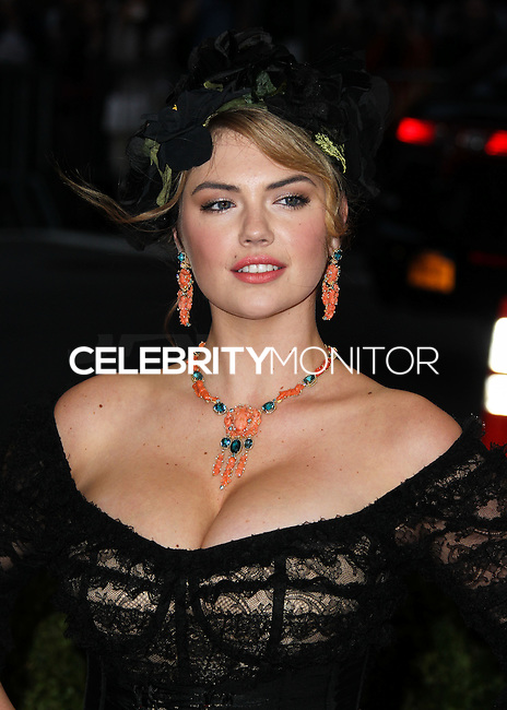 "NEW YORK CITY, NY, USA - MAY 05: Kate Upton at the ""Charles James: Beyond Fashion"" Costume Institute Gala held at the Metropolitan Museum of Art on May 5, 2014 in New York City, New York, United States. (Photo by Xavier Collin/Celebrity Monitor)"