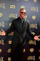 BURBANK - APR 26: Shemar Moore at the 42nd Daytime Emmy Awards Gala at Warner Bros. Studio on April 26, 2015 in Burbank, California