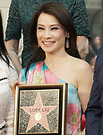 Lucy Liu Honored With Star On The Hollywood Walk Of Fame on May 01, 2019 in Hollywood, California.<br /> a _Lucy Liu 001