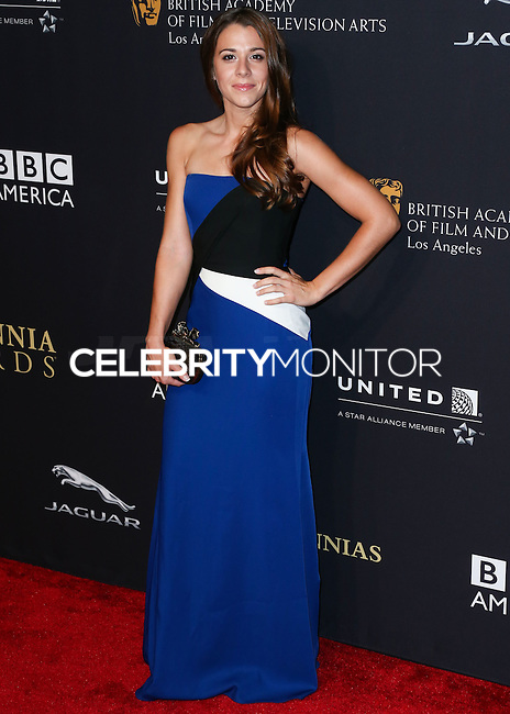 BEVERLY HILLS, CA, USA - OCTOBER 30: Victoria Atkin arrives at the 2014 BAFTA Los Angeles Jaguar Britannia Awards Presented By BBC America And United Airlines held at The Beverly Hilton Hotel on October 30, 2014 in Beverly Hills, California, United States. (Photo by Xavier Collin/Celebrity Monitor)