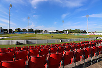 General view of the ground Leicestershire CCC vs Essex CCC, Specsavers County Championship Division 2 Cricket at the Fischer County Ground, Grace Road on 24th August 2016
