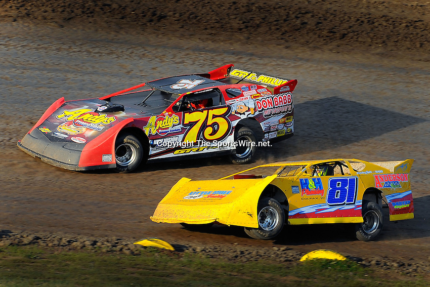 Aug 1, 2009; 7:22:52 PM; New Richmond, WI., USA; The 22nd annual USA Nationals running a 50,000-to-win unsanctioned event at Cedar Lake Speedway.  Mandatory Credit: (thesportswire.net)