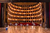 Roma, Teato Argentina, 28/06/2016.  Attesa della prima dello spettacolo Respiro.