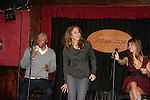 All My Children's J.R. Martinez, Jamie Luner and Chrishell Stause came to see fans on November 22, 2009 at the Brokerage Comedy Club & Vaudeville Cafe, Bellmore, NY for a Q & A, autographs and photos. (Photo by Sue Coflin/Max Photos)