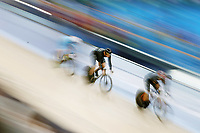 Eddie Dawkins of New Zealand competes in the Men's Keirin 1st Round Repechage. Gold Coast 2018 Commonwealth Games, Track Cycling, Anna Meares Velodrome, Brisbane, Australia. 6 April 2018 © Copyright Photo: Anthony Au-Yeung / www.photosport.nz /SWpix.com