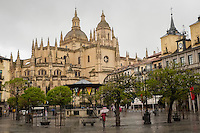 Segovia's cathedral, built in Renaissance times, was Spain's last major Gothic building.
