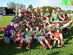 Glen Emmets celebrate. Photo: Colin Bell/Pressphotos.ie