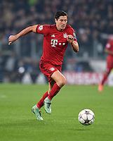 FUSSBALL CHAMPIONS LEAGUE  SAISON 2015/2016 ACHTELFINAL HINSPIEL Juventus Turin - FC Bayern Muenchen             23.02.2016 Robert Lewandowski (FC Bayern Muenchen)