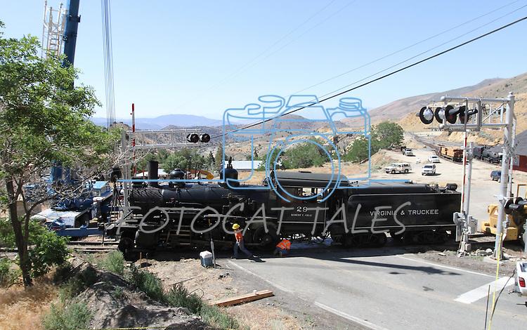 V&T Derailment | Nevada Momentum