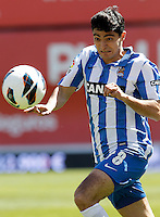 Real Sociedad's Chory Castro during La Liga match.April 14,2013. (ALTERPHOTOS/Acero)
