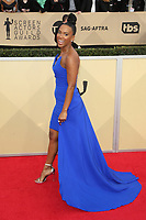 LOS ANGELES, CA - JANUARY 21: Vicky Jeudy at The 24th Annual Screen Actors Guild Awards held at The Shrine Auditorium in Los Angeles, California on January 21, 2018. Credit: FSRetna/MediaPunch