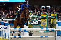 ZUIDBROEK - Paardensport, ICCH Zuidbroek, springen internationaal Grote Prijs , 05-01-2019, Bart Bles met Israel vd Dennehoeve