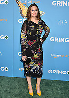 LOS ANGELES, CA - MARCH 06: Actress Emily Deschanel attends the world premiere of 'Gringo' from Amazon Studios and STX Films at Regal LA Live Stadium 14 on March 6, 2018 in Los Angeles, California.<br /> CAP/ROT/TM<br /> &copy;TM/ROT/Capital Pictures