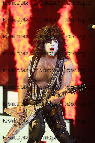 Kiss performing live on the opening night of their Sonic Boom Over Europe tour at Sheffield Arena Sheffield UK - 01 May 2010.  Photo credit: Tony Woolliscroft / IconicPix