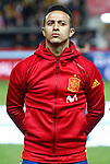 Spain's Thiago Alcantara during FIFA World Cup 2018 Qualifying Round match. March 24,2017.(ALTERPHOTOS/Acero)