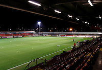 A general view from the stands prior to the Sky Bet League 2 match between Crawley Town and Exeter City at Broadfield Stadium, Crawley, England on 28 February 2017. Photo by Carlton Myrie / PRiME Media Images.
