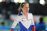 SPEED SKATING: STAVANGER: Sørmarka Arena, 31-01-2016, ISU World Cup, 3000m Ladies Division A, Olga Graf (RUS), ©photo Martin de Jong
