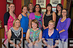 Maria Falvey, Tralee Road, Killarney, pictured with her mother Sheila, sister Claire, Brid Nolan, Evelyn O'Sullivan, Oonagh McCarthy, Miriam Brosnan, Rosemaire Doolan, Levinia Lyne and Tina Hegarty as she celebrated her 30th birthday in Bricin Restaurant, Killarney on Saturday night........