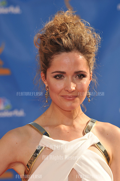 Rose Byrne at the 2010 Primetime Emmy Awards at the Nokia Theatre L.A. Live in downtown Los Angeles..August 29, 2010  Los Angeles, CA.Picture: Paul Smith / Featureflash