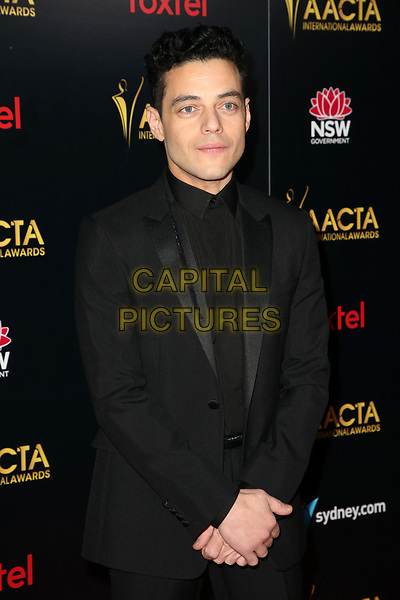 4 January 2019 - West Hollywood, California - Rami Malek. the 8th AACTA International Awards held at Skybar at Mondrian.        <br /> CAP/ADM/FS<br /> ©FS/ADM/Capital Pictures