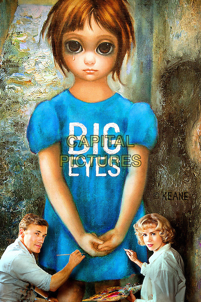 POSTER ART<br /> in Big Eyes (2014) <br /> *Filmstill - Editorial Use Only*<br /> CAP/NFS<br /> Image supplied by Capital Pictures