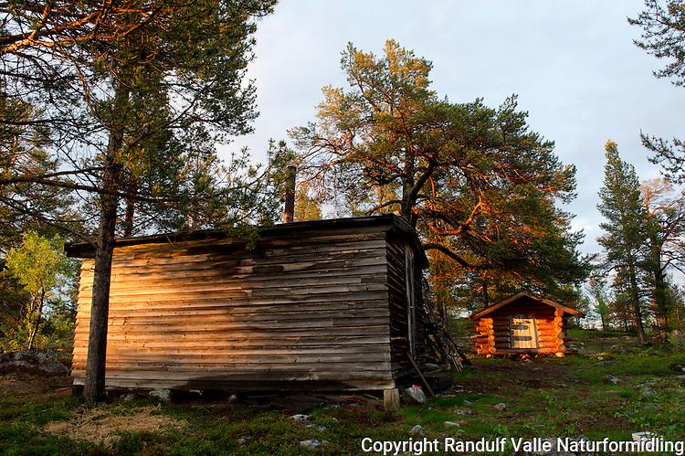 Vestkoia i Pasvik. ---- Hut in Pasvik.