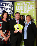 Eimear Marron, Avril Kay and Mark Seckerson of Jobfit at the Open Day in The Westcourt Hotel...(Photo credit should read Jenny Matthews www.newsfile.ie)....This Picture has been sent you under the condtions enclosed by:.Newsfile Ltd..The Studio,.Millmount Abbey,.Drogheda,.Co Meath..Ireland..Tel: +353(0)41-9871240.Fax: +353(0)41-9871260.GSM: +353(0)86-2500958.email: pictures@newsfile.ie.www.newsfile.ie.