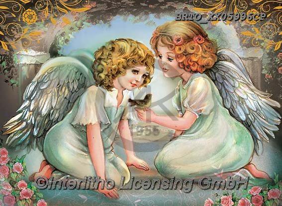 Alfredo, CHILDREN, KINDER, NIÑOS, paintings+++++,BRTOXX05996CP,#k#, EVERYDAY ,angel,angels