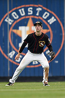 Quad Cities River Bandits center fielder Kyle Tucker (19) during a game against the Burlington Bees on May 9, 2016 at Modern Woodmen Park in Davenport, Iowa.  Quad Cities defeated Burlington 12-4.  (Mike Janes/Four Seam Images)