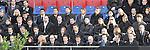 Am heutigen Sonntag (15.11.2009) nahmen die Fans und Freunde des am 10.11.2009 verstorbenen Nationaltorwartes Robert Enke ( Hannover 96 ) Abschied. In der groessten Trauerfeier nach Adenauer kamen rund 100.000 Tr&auml;uergaeste zur AWD Arena. Zu den VIP z&auml;hlten u.a. Altkanzler Gerhard Schroeder, Bundestrainer Joachim Loew und die aktuelle DFB Nationalmannschaft, sowie Vertreter der einzelnen Bundesligamannschaften und ehemalige Vereine, in denen er gespielt hat. Der Sarg wurde im Mittelkreis des Stadions aufgebahrt. Trauerreden hielten u.a. MIniterpr&auml;sident Christian Wulff, DFB Pr&auml;sident Theo Zwanziger , Han. Pr&auml;sident Martin Kind <br /> <br /> <br /> Foto:  Hannover Spieler und ehemalige<br /> <br /> Foto: &copy; nph ( nordphoto )  <br /> <br />  *** Local Caption *** Fotos sind ohne vorherigen schriftliche Zustimmung ausschliesslich f&uuml;r redaktionelle Publikationszwecke zu verwenden.<br /> Auf Anfrage in hoeherer Qualitaet/Aufloesung