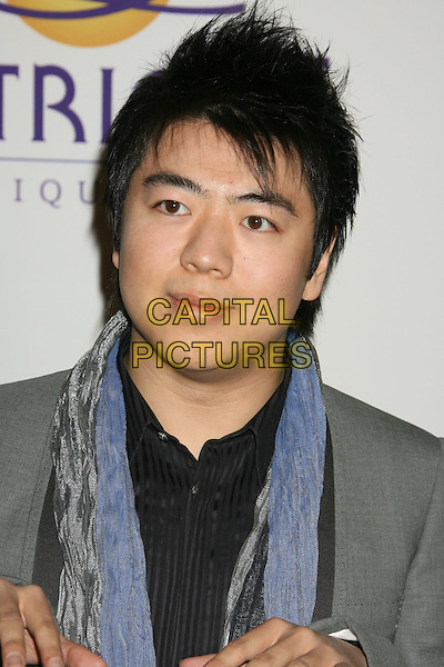 LANG LANG.2008 Clive Davis Pre-Grammy Awards Party held at the Beverly Hilton Hotel, Beverly Hills, California, USA..February 9th, 2008.headshot portrait.CAP/ADM/RE.©Russ Elliot/AdMedia/Capital Pictures.