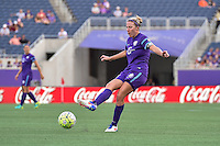 Orlando, FL - Saturday Sept. 24, 2016: Becky Edwards during a regular season National Women's Soccer League (NWSL) match between the Orlando Pride and FC Kansas City at Camping World Stadium.