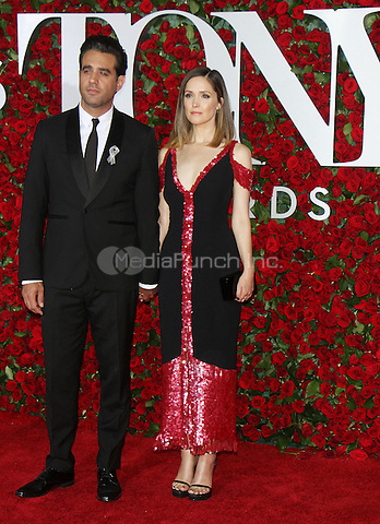 NEW YORK, NY-June 12: Bobby Cannavale, Rose Byrne at the 70th Annual Tony Awards at the Beacon Theatre in New York. NY June 12, 2016. Credit:RW/MediaPunch