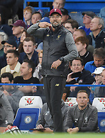 Jurgen Klopp of Liverpool <br /> 29-09-2018 Premier League <br /> Chelsea - Liverpool<br /> Foto PHC Images / Panoramic / Insidefoto <br /> ITALY ONLY
