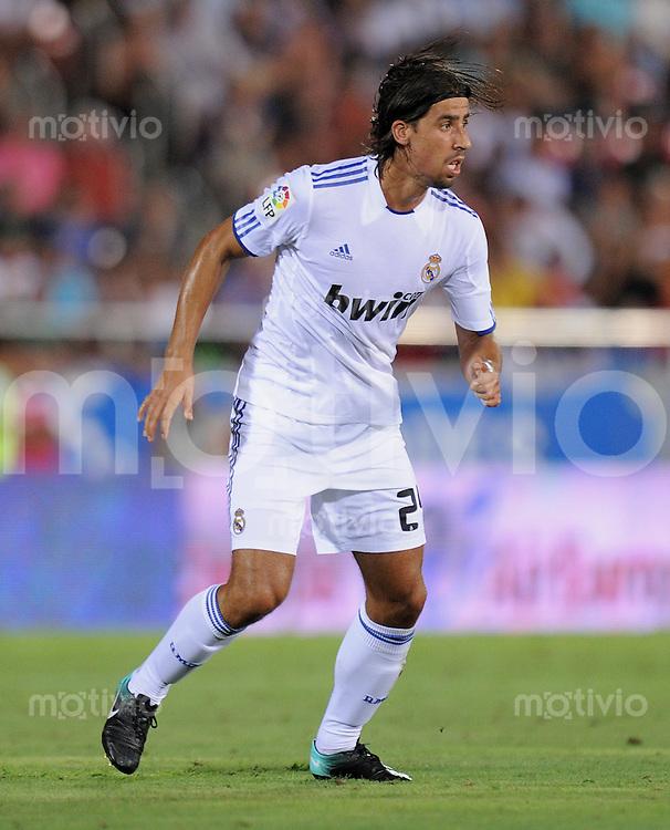 FUSSBALL  INTERNATIONAL  PRIMERA DIVISION  SAISON 2010/2011   29.08.2010 1. Spieltag RCD Mallorca - Real Madrid Sami KHEDIRA (Real Madrid)