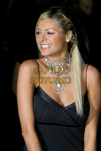 TESS DALY.National Television Awards 2005 at the Royal Albert Hall, SW7, London, UK..October 25th, 2005.Ref: AH.Daley headshot portrait necklace jewellery.www.capitalpictures.com.sales@capitalpictures.com.© Capital Pictures.