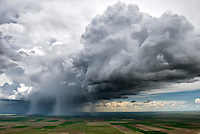 Prairie thunderstorm, eastern Colorado. May 2015