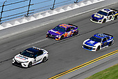 Monster Energy NASCAR Cup Series<br /> Daytona 500<br /> Daytona International Speedway, Daytona Beach, FL USA<br /> Sunday 18 February 2018<br /> Toyota Camry pace car, Alex Bowman, Hendrick Motorsports, Nationwide Chevrolet Camaro, Denny Hamlin, Joe Gibbs Racing, FedEx Express Toyota Camry<br /> World Copyright: Logan Whitton<br /> LAT Images