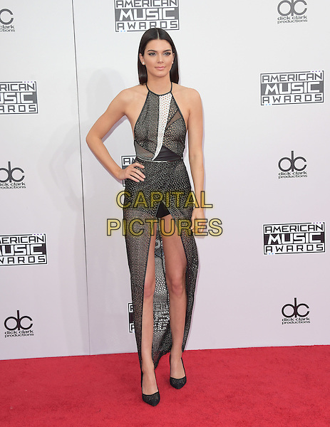 Kendall Jenner at The 2014 American Music Award held at The Nokia Theatre L.A. Live in Los Angeles, California on November 23,2014                                                                                <br /> CAP/RKE/DVS<br /> &copy;DVS/RockinExposures/Capital Pictures