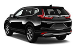 Car pictures of rear three quarter view of 2017 Honda CR-V EX-L 5 Door SUV Angular Rear
