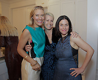 Kerrilynn Pamer, Dana James and Cindy DiPrima attend the CAP Beauty + Jenni Kayne Dinner on Nov. 5, 2015 (Photo by Inae Bloom/Guest of a Guest)