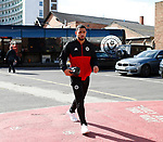 Cameron Carter Vickers of Sheffield Utd arrives during the Championship match at the City Ground Stadium, Nottingham. Picture date 30th September 2017. Picture credit should read: Simon Bellis/Sportimage