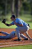 December 28, 2009:  Robert Hughes (13) of the Baseball Factory Tar Heels team during the Pirate City Baseball Camp & Tournament at Pirate City in Bradenton, Florida.  (Copyright Mike Janes Photography)