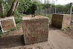 Graffittii   next to Thrupp  lake.  Radley lakes