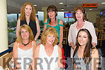 Front l-r Claire Randalls, Helen Shine and Shauna Cashell.Back l-r Caroline Collins, Geraldine Collins and Breda Cashel enjoying a family get togeather in the Greyhound Track on Friday night