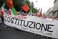 - Milano, manifestazione per il 2 giugno, festa della Repubblica<br /> <br /> - Milan, event for June 2, Republic Day