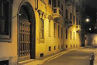 - Milan, Amedei street<br /> <br /> - Milano, via Amedei