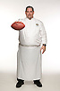 Leo Dominguez, Executive Chef at Lambeau Field, home to the Green Bay Packers football team. Photo by Kevin J. Miyazaki/Redux