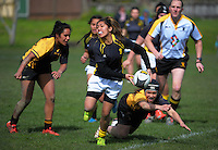 150912 Women's Rugby - Wellington Under-18 v Wellington Maori