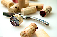 Cork puller tool and screw cap for Thursday Happy Hour